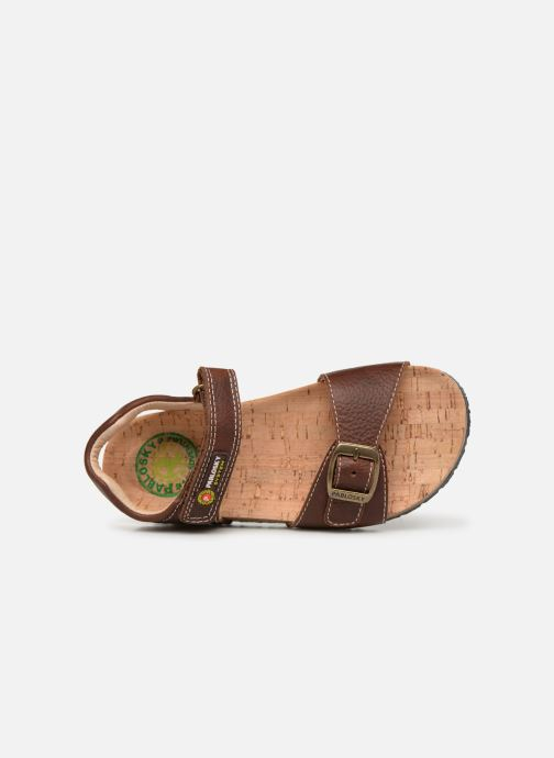 Sandales et nu-pieds Pablosky Ignacio Marron vue gauche