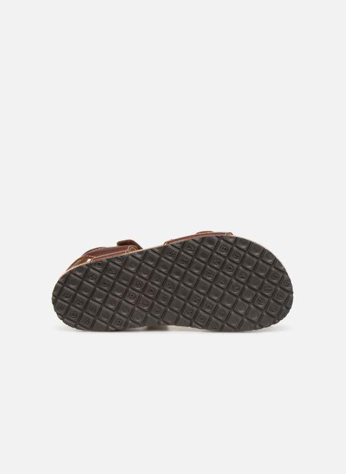 Sandales et nu-pieds Pablosky Ignacio Marron vue haut