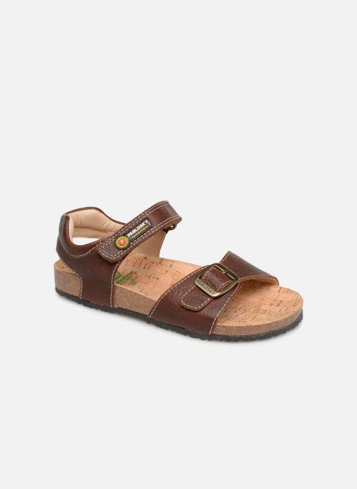 Sandales et nu-pieds Pablosky Ignacio Marron vue détail/paire