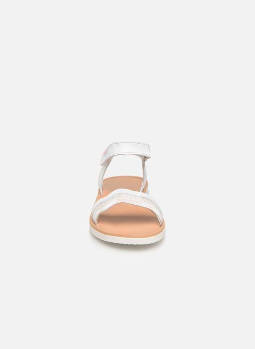Sandales et nu-pieds Pablosky Ramona Blanc vue portées chaussures