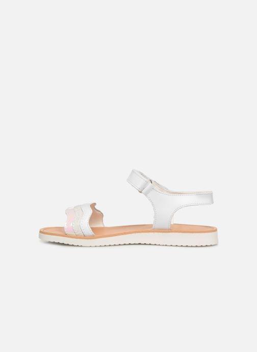 Sandales et nu-pieds Pablosky Ramona Blanc vue face