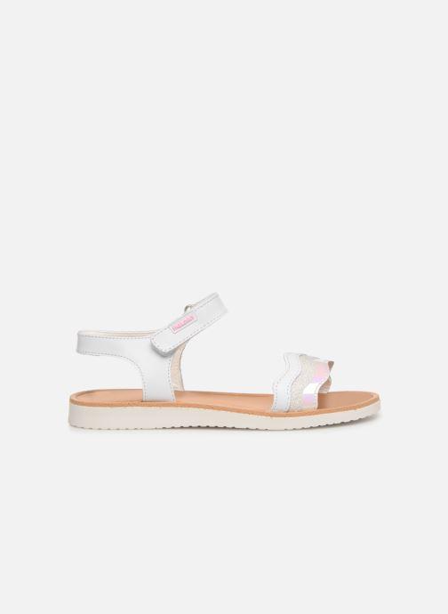 Sandales et nu-pieds Pablosky Ramona Blanc vue derrière