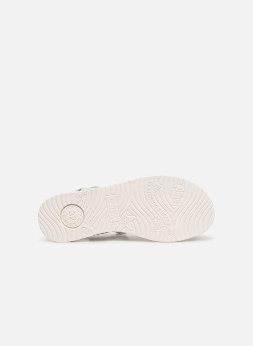Sandales et nu-pieds Pablosky Ramona Blanc vue haut