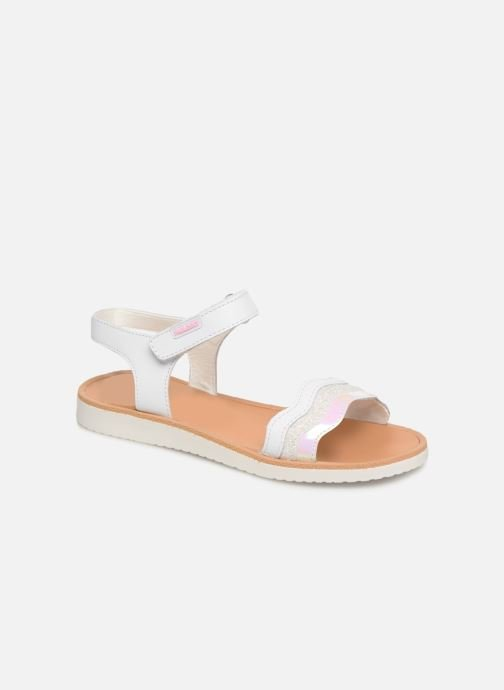 Sandals Pablosky Ramona White detailed view/ Pair view