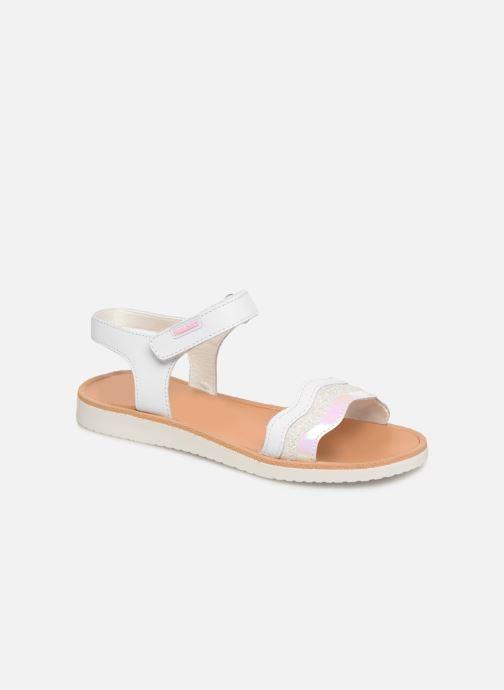 Sandales et nu-pieds Pablosky Ramona Blanc vue détail/paire