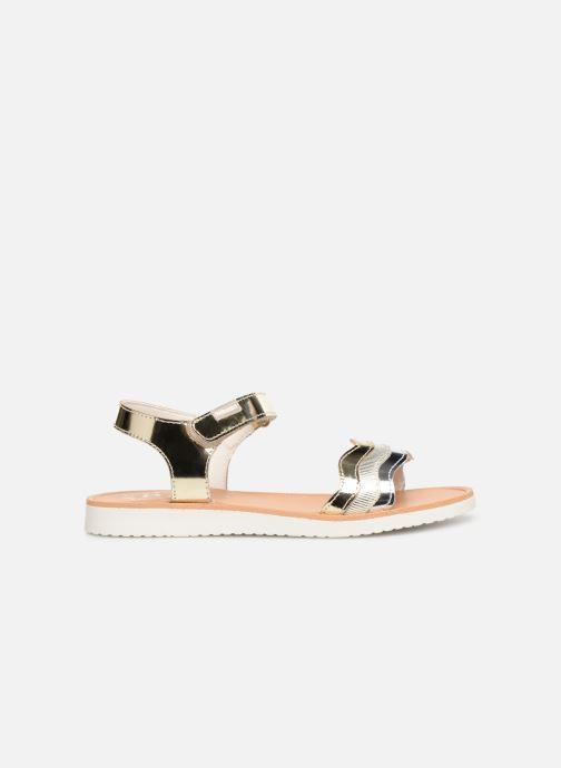 Sandales et nu-pieds Pablosky Ramona Or et bronze vue derrière