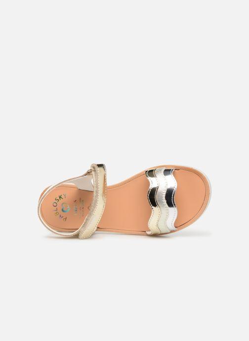 Sandales et nu-pieds Pablosky Ramona Or et bronze vue gauche
