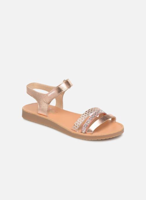 Sandales et nu-pieds Pablosky Esperanza Rose vue détail/paire