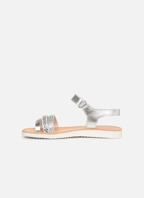 Sandals Pablosky Esperanza Silver front view