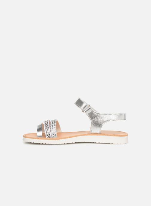 Sandales et nu-pieds Pablosky Esperanza Argent vue face