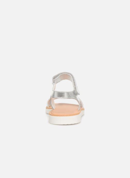 Sandales et nu-pieds Pablosky Esperanza Argent vue droite