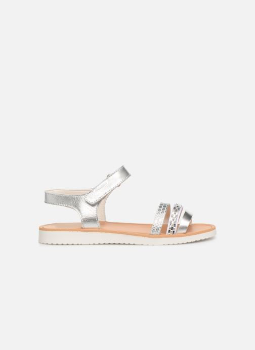 Sandales et nu-pieds Pablosky Esperanza Argent vue derrière