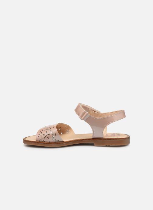 Sandales et nu-pieds Pablosky Bianca Rose vue face