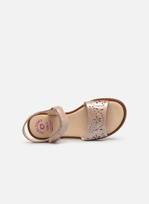 Sandales et nu-pieds Pablosky Bianca Rose vue gauche