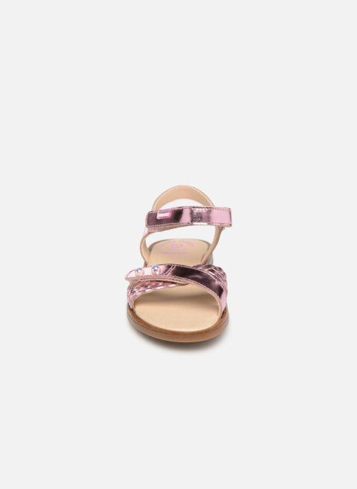 Sandales et nu-pieds Pablosky Carina Rose vue portées chaussures