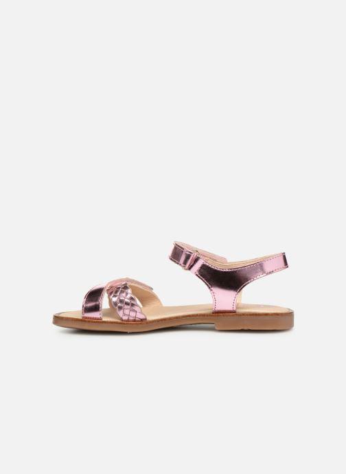 Sandales et nu-pieds Pablosky Carina Rose vue face