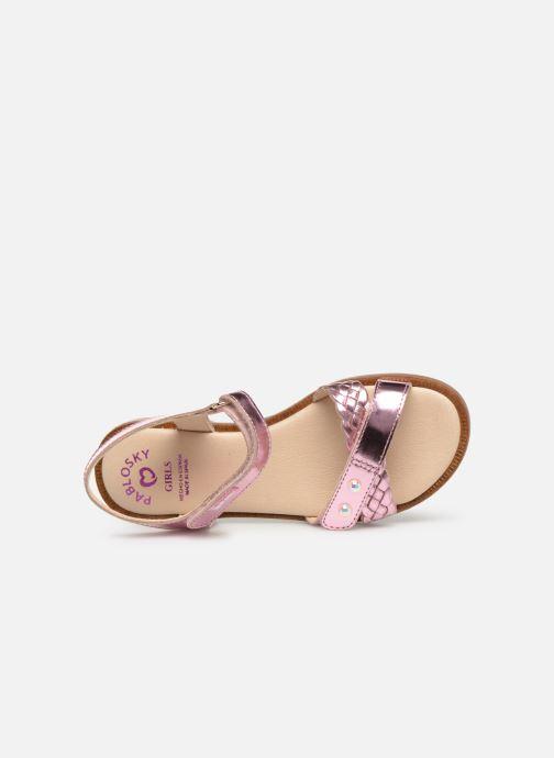 Sandales et nu-pieds Pablosky Carina Rose vue gauche