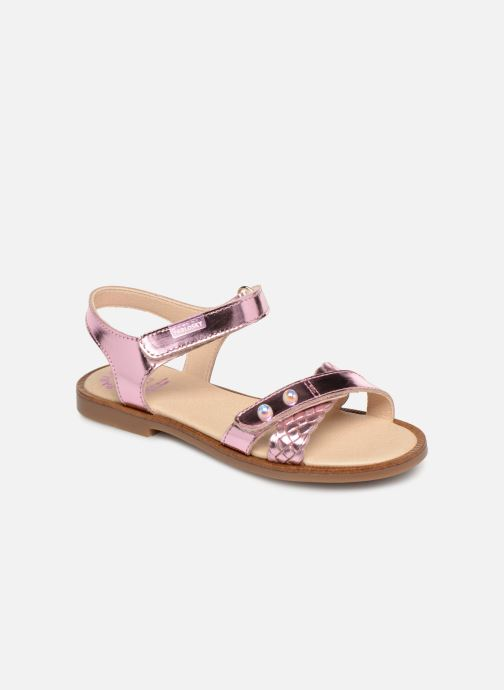 Sandals Pablosky Carina Pink detailed view/ Pair view