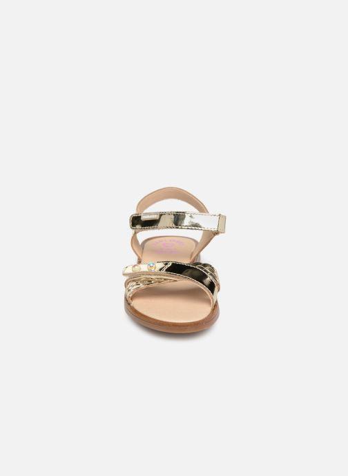 Sandalen Pablosky Carina gold/bronze schuhe getragen