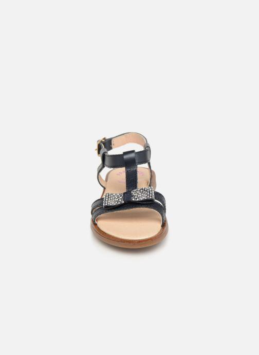 Sandales et nu-pieds Pablosky Frida Bleu vue portées chaussures
