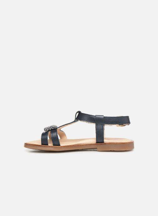 Sandales et nu-pieds Pablosky Frida Bleu vue face