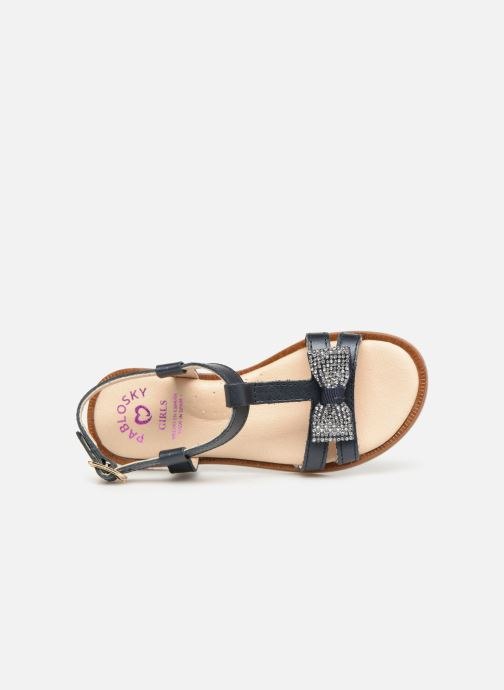 Sandales et nu-pieds Pablosky Frida Bleu vue gauche