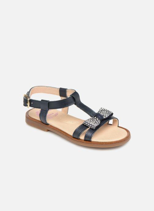 Sandales et nu-pieds Pablosky Frida Bleu vue détail/paire