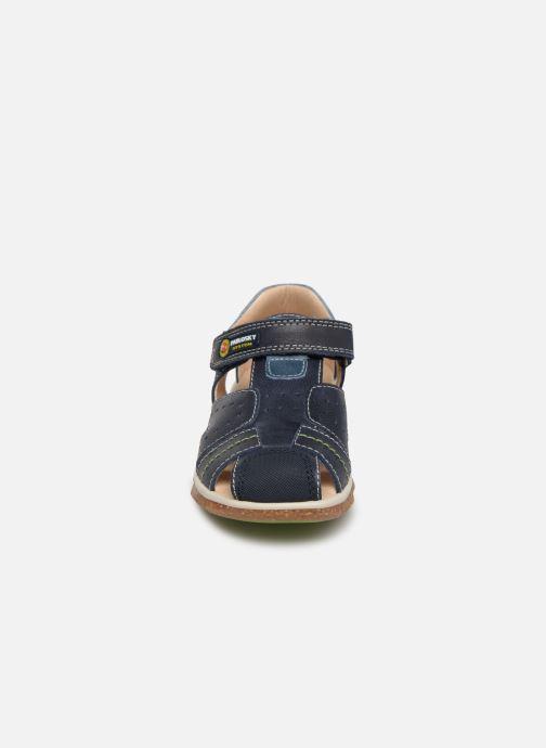 Sandales et nu-pieds Pablosky Alvaro Bleu vue portées chaussures