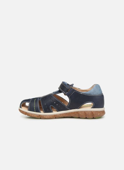 Sandales et nu-pieds Pablosky Alvaro Bleu vue face
