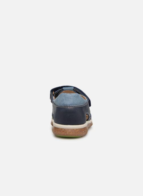Sandales et nu-pieds Pablosky Alvaro Bleu vue droite