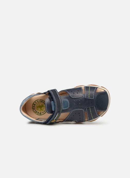 Sandales et nu-pieds Pablosky Alvaro Bleu vue gauche