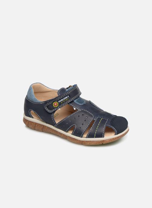 Sandales et nu-pieds Pablosky Alvaro Bleu vue détail/paire