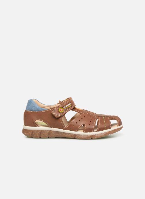 Sandales et nu-pieds Pablosky Alvaro Marron vue derrière