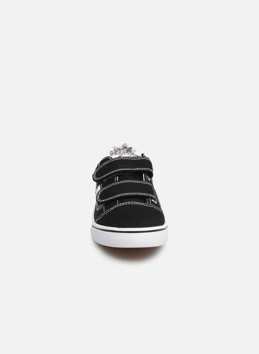 Baskets Pablosky Enrique Noir vue portées chaussures