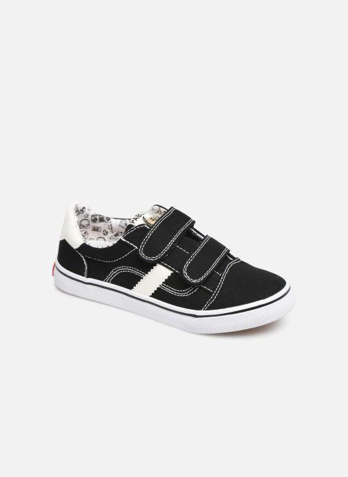 Sneakers Pablosky Enrique Zwart detail