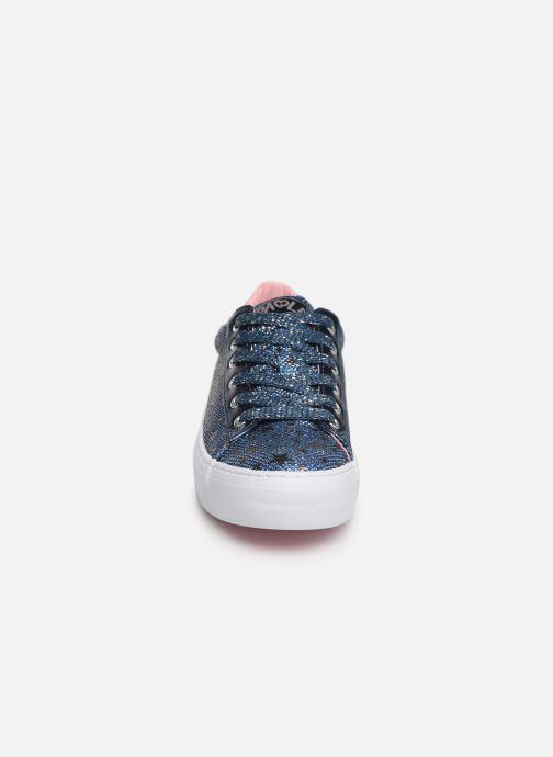 Baskets Pablosky Rosita Bleu vue portées chaussures