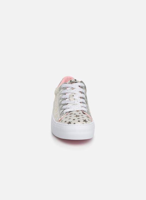 Baskets Pablosky Rosita Argent vue portées chaussures