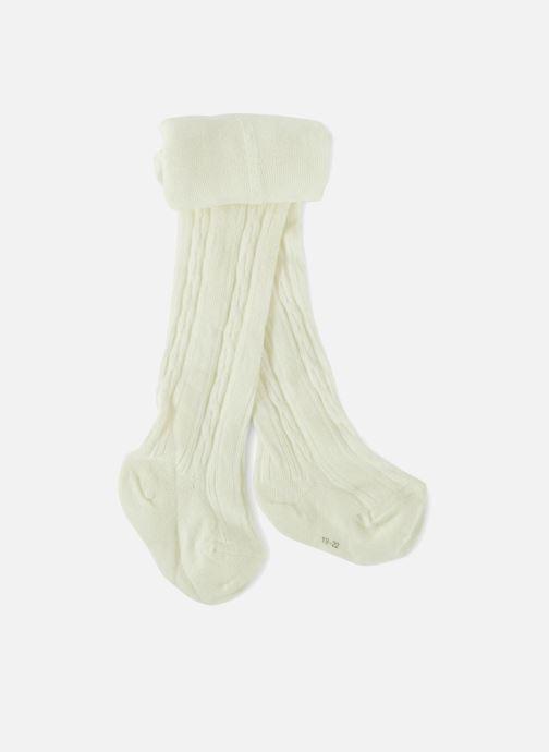 Chaussettes et collants Bout'Chou COLLANT TORSADES Blanc vue détail/paire