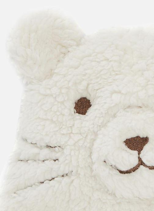 Bonnets Bout'Chou CHAPKA BOUCLETTE G Blanc vue portées chaussures