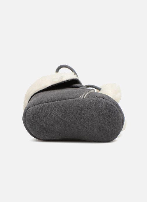 Pantoffels Bout'Chou CHAUSSON POMPON BBC Grijs boven
