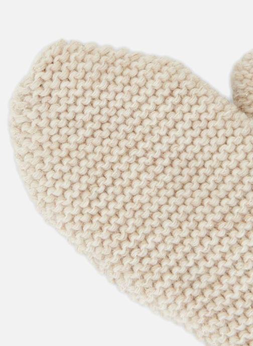 Handschoenen Monoprix Femme MOUFLE TRICO POINT MOUSSE Beige model