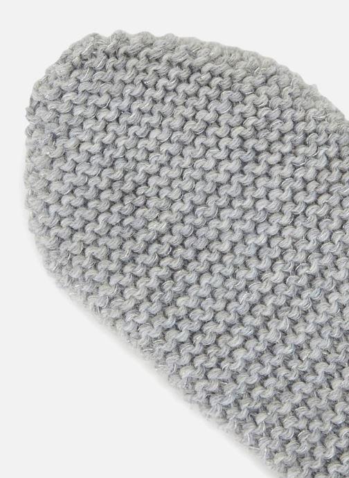 Handschuhe Monoprix Femme MOUFLE TRICO POINT MOUSSE grau schuhe getragen