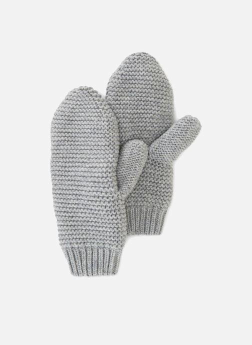 Handschuhe Monoprix Femme MOUFLE TRICO POINT MOUSSE grau detaillierte ansicht/modell