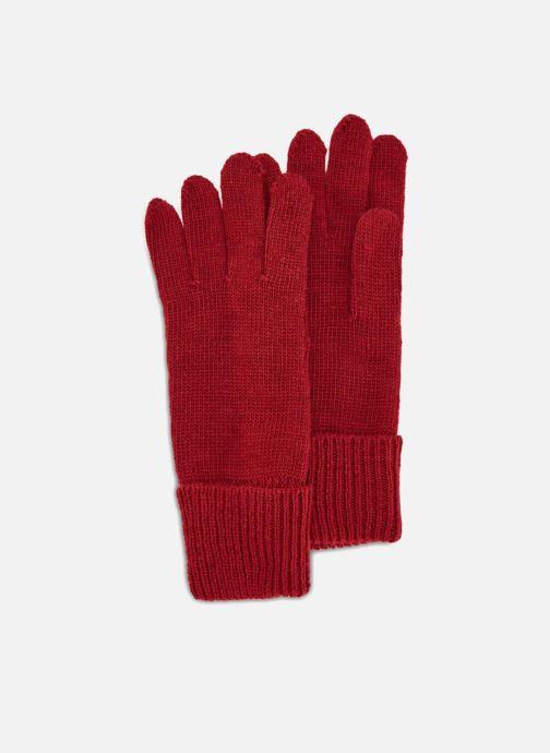 Handsker Monoprix Femme GANT TRICO UNI-RAY Rød detaljeret billede af skoene