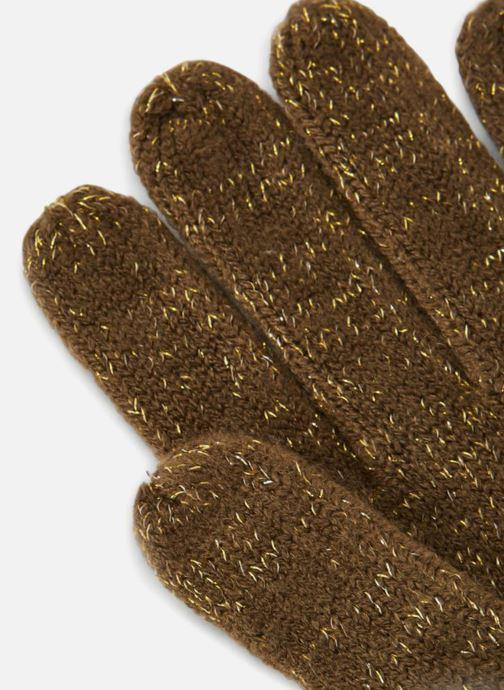 Handschuhe Monoprix Femme GANTS ACRYLIQUE UNI LUREX grün schuhe getragen