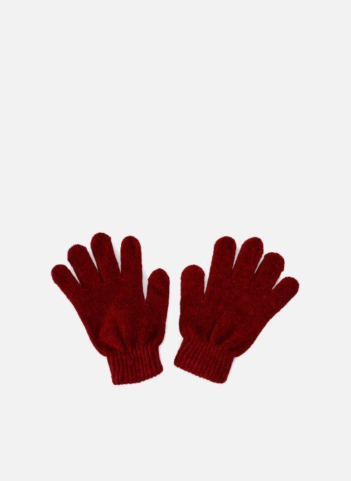 Guanti Monoprix Femme GANTS MAILLE CHENILLE Rosso vedi dettaglio/paio