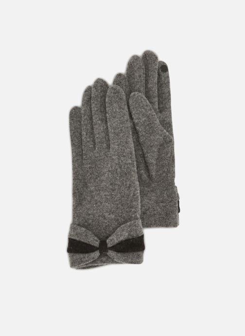 Gloves Monoprix Femme GANTS NOEUD POIGNET Grey detailed view/ Pair view