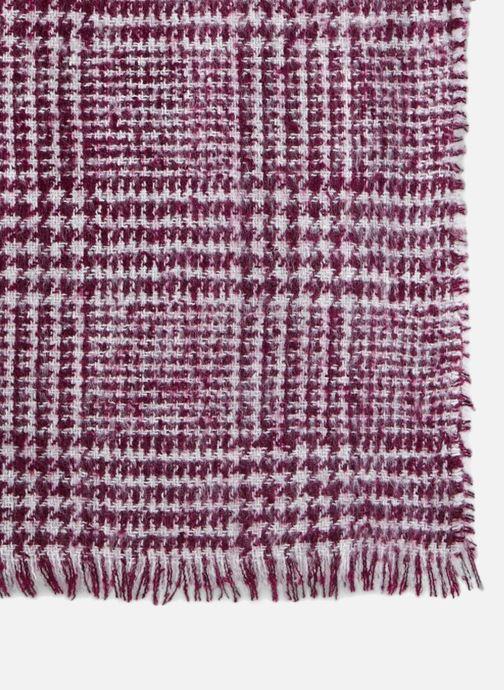 Sjaal Monoprix Femme ECHARPE ACRYLIQUE BOURETTE Bordeaux voorkant