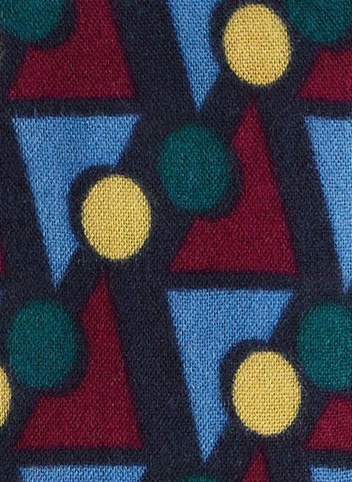 Sciarpa y foulard Monoprix Femme ECHARPE ACRYLIQUE IMPRIMES GEOMETRIQUES Multicolore immagine frontale