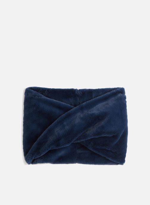 Echarpes et Foulards Monoprix Femme ECHARPE TUBE SNOOD Bleu vue portées chaussures